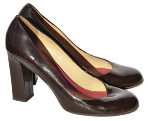 Kate Spade Brown Patent Leather Pumps