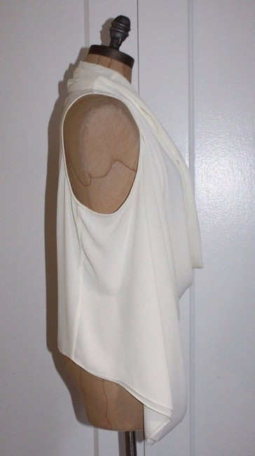 FATE Draped Cowl Neck Top ivory Image 3