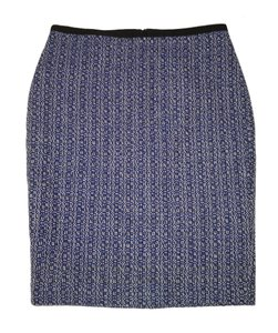 Ann Taylor Pencil Tweed Cototn Skirt