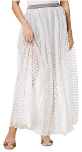Free People Maxi Skirt White