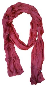 BCBGMAXAZRIA Textured Scarf in Dusty Rose