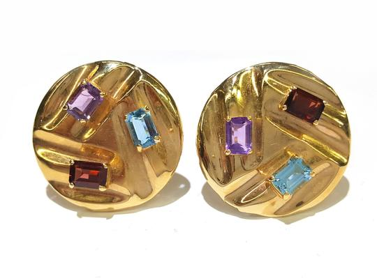 Preload https://img-static.tradesy.com/item/20226117/14k-yellow-gold-and-color-stones-stud-clip-earrings-0-0-540-540.jpg