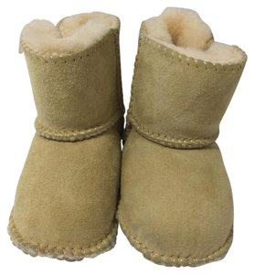 PENELOPE WILDBERRY Sheepskin Geniune Logo Winter LIGHT TAN Boots
