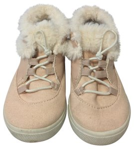 Carter's Sneakers Faux Fur Rubber LIGHT PINK/ WHITE Athletic