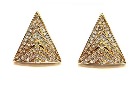 Preload https://img-static.tradesy.com/item/20226157/14k-yellow-gold-and-110-genuine-diamonds-triangle-earrings-0-0-540-540.jpg