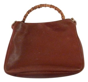 Gucci Restored Lining Excellent Vintage Two-way Style Sarah Flip-top Style Hobo Bag