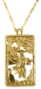 Napier Napier Asian Motif Pendant Necklace