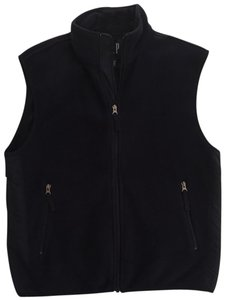 Gap Navy Fleece Fleece Lightweight Workout Clothes Light Fleece Vest