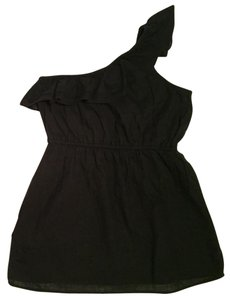 Old Navy One Strap Black Going Out Black Night Out Summer Party Top