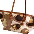 Ralph Lauren Collection Tote in Brown/gold