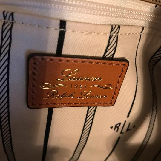 Ralph Lauren Collection Tote in Brown/gold Image 2