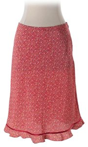 Express Junior Wedding Dress Casual Skirt Red floral