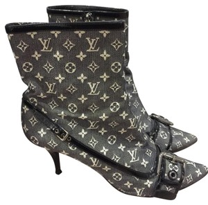 Louis Vuitton Black/gray Boots