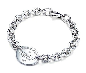 Tiffany & Co. Please Return To Tiffany & Co Oval Tag Bracelet 7.5
