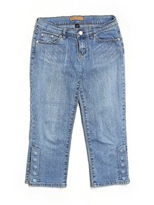 Tommy Hilfiger Junior Medium Wash Capri Capri/Cropped Denim-Medium Wash