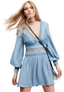 Free People short dress blue moon on Tradesy