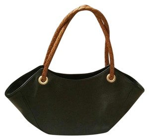 Desmo Tote in Black/tan