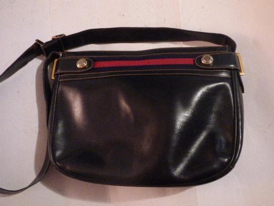 Gucci Hobo/Shoulder Mint Vintage Early Style Red/Blue Two-tone Hardware Hobo Bag Image 1