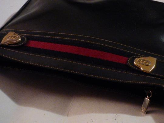 Gucci Hobo/Shoulder Mint Vintage Early Style Red/Blue Two-tone Hardware Hobo Bag Image 2
