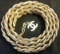 Chanel New Intricately Woven Gold Tone Jewelry Chain Belt Image 5