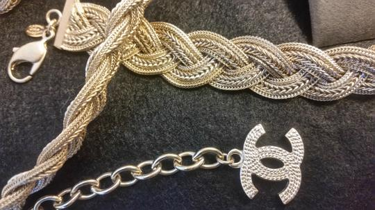 Chanel New Intricately Woven Gold Tone Jewelry Chain Belt Image 6