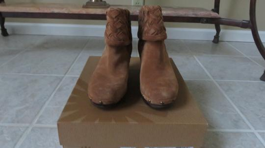 UGG Australia Ugg. Suede Ankle Boots Chunky Heels chestnut Mules Image 1