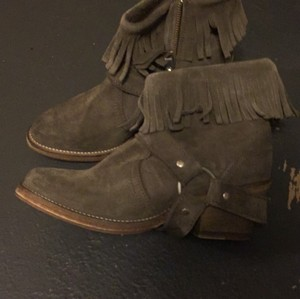 AllSaints Taupe grey Boots