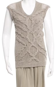 Brunello Cucinelli short dress Grey on Tradesy