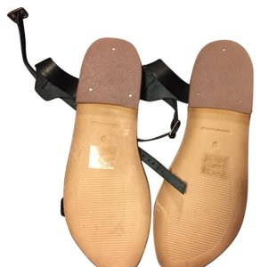 Urban Outfitters Black ,nude tan Sandals