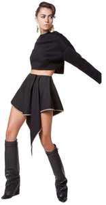 Replica Moda Dress Shorts Black and Dark Red