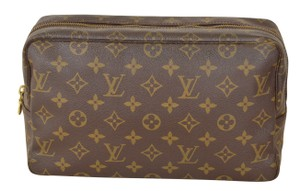 Louis Vuitton Trousse Toilette 28 Brown Clutch