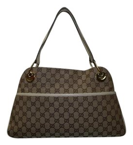 Gucci Gg Canvas Hand Tote in Brown