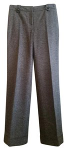 Ann Taylor Business Casual Lined Trouser Pants Brown