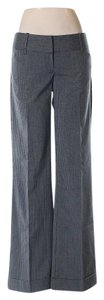 Tracy Evans Junior Interview Flare Pants Gray Pinstripe