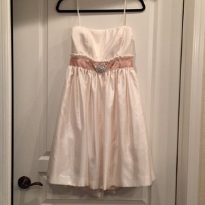 The Limited Off White Casual Wedding Dress Size 10 (M)