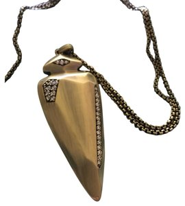 Kendra Scott Kendra Scott Staley Antique Brass Spear/Arrowhead Pendant
