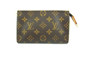 Louis Vuitton Pochette Toilette 17 Monogram Canvas Cosmetics Travel Dopp Bag