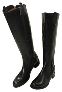 Blondo Leather Riding Boot Black Boots