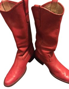 Brn red Boots