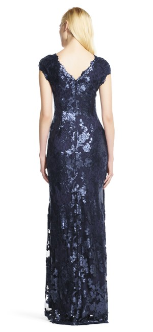 Adrianna Papell Sequin Gown Dress Image 3