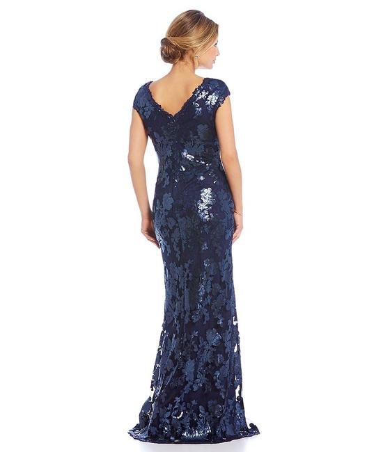 Adrianna Papell Sequin Gown Dress Image 1