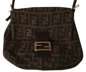 Fendi Vintage Cashmere Shoulder Bag