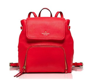 Kate Spade Soft Pebble Leather Cobble Hill Charlie Backpack