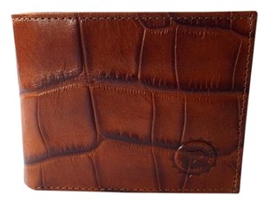 Andrue Handmade NEW Bifold Men's Italian Crocodile Pressed Leather Wallet