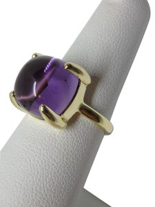 Tiffany & Co. Paloma Picasso 8.00ct Amethyst Sugar Stack 18k ring sz6.25