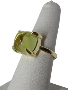 Tiffany & Co. Paloma Picasso 8.ct yellow citrine Sugar Stack 18k ring sz 6.5