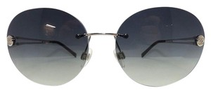 Chanel Chanel Sunglasses 4158 Round Black and Silver