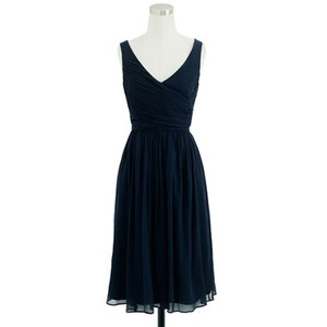 J.Crew Newport Navy Heidi Dress