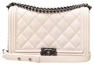 Chanel Medium Le Boy Calfskin Shoulder Bag