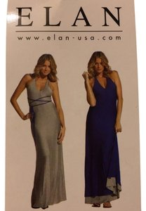 Grey/White Maxi Dress by Elan